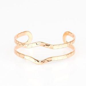 Gold bracelet paparazzi